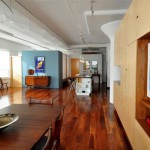 American Black Walnut Wood Interior Apartment Design