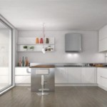 Contemporary Designs In Furniture With Simple And Minimalist Kitchen