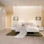Contemporary Warm Bedroom Design Gallery Photo
