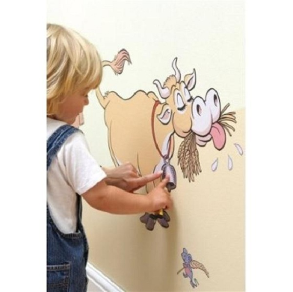 Funny Wallpapers For Kid's Room Inspiration (6)