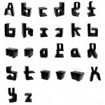 Make Word On Your Room With Chair Design Alphabet