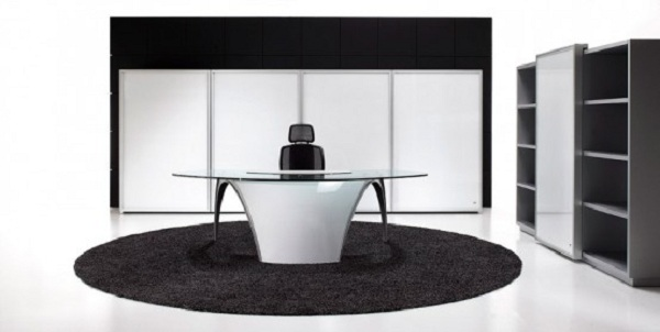 Futuristic Desk For Home Office