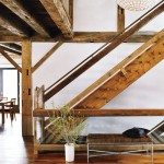 old wood in classic home design