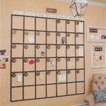 Unique Monthly Calender Wall Decoration Inpiration - 4