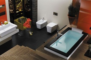 Modern Bathroom With Asian Feel Idea