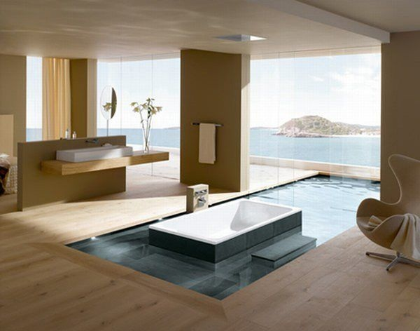 Modern Bathroom With Asian Feel Idea | Design, Pictures, Ideas ...