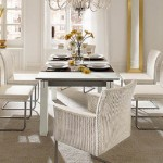 Dining Room Decorating with The Wicker Chairs (4)