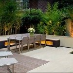 Garden Decor With Dining Table And Lounge (4)