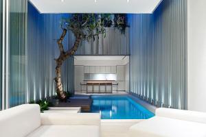 Singapore Minimalist Indoor Swimming Pool