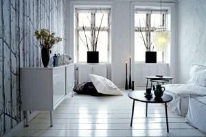 White Luxury Apartment Design Ideas