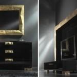 black luxury bedroom furniture ideas by Ruggero Camilloto (4)