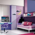 Elegant And Modern Teenage Girls Bedroom Idea