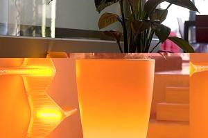 Garden Lighting With Pot Internal Lighting