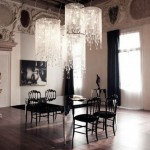 Luxury Black Dining Room Sets With Italian Furniture (3)