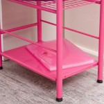 Pink Study Room Furniture And Decorating for Girl (5)