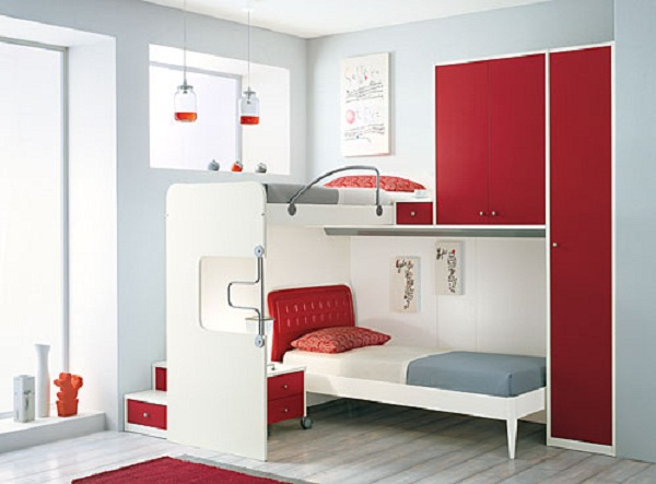 Bunk bed ideas for small rooms home design inside for Very small house decorating ideas