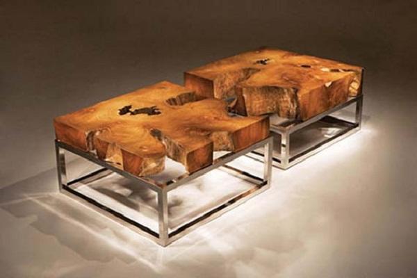 Unique Coffee Table Design Rustic Furniture With Elegant