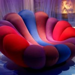 Colorful Armchair Inspired by Anemone (4)