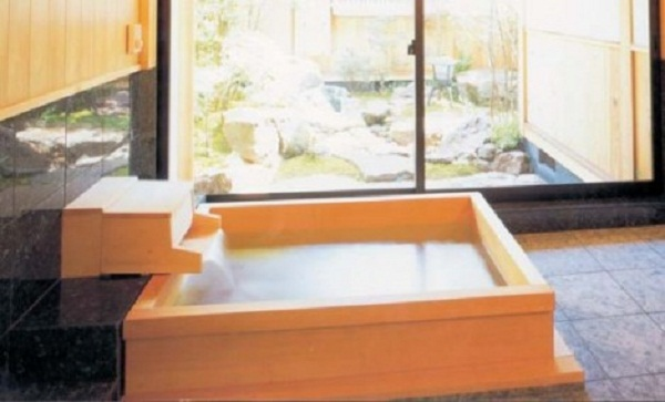 japanese bath wooden bath