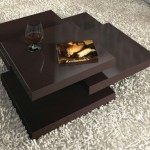 rotor coffee table