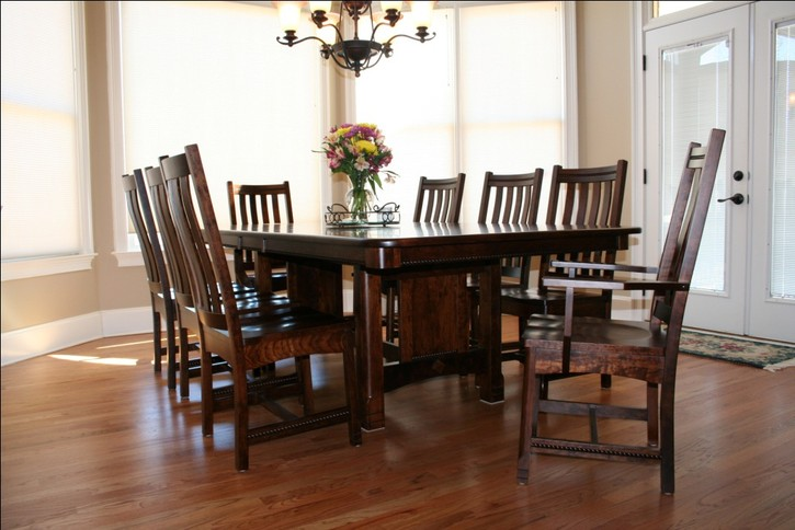 amish dining room tables for home interiors realcohomes