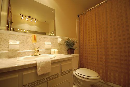 Bathroom lighting tips for home interiors realcohomes for Bathroom lighting design tips