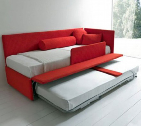 Double sofa beds for home interiors realcohomes for Sofa bed interior design