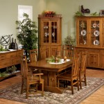 new-Amish Dining Room Tables for home interiors