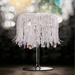 new-Crystal table lamp for home interiors