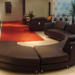 new-Curved Sectional Sofa for home interiors