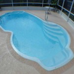 new-Fiberglass Inground Swimming Pool for home interiors