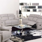 new-White Leather Recliners Sofa for home interiors