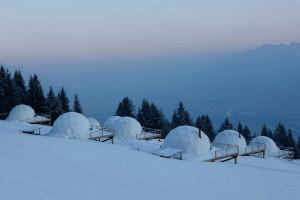 Modern Resort Like Igloo – WhitePod Alpine Ski Resort