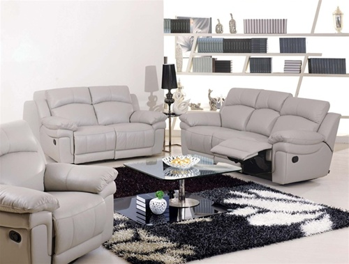new-White-Leather-Recliners-Sofa-for-home-interiors