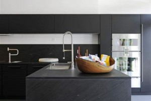 Black Elegant And Modern Kitchen Design